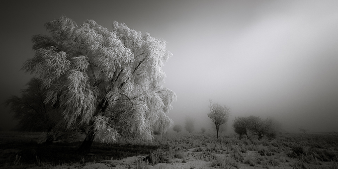 Winter darkness - Netherlands